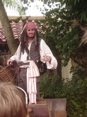 Jack Sparrow on Set MK WDW 2 by WDWParksGal-Stock
