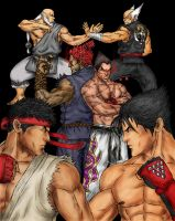 Tekken X Street Fighter by DHK88