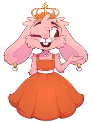 bunnies in dresses can bury me alive by PopAnimals