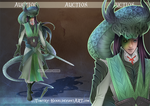(CLOSED) - Serpent Lord Adoptable Auction #030 by Timothy-Henri