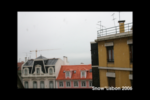 snow in lisbon by jreis
