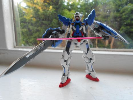 my first ever Gundam figure pic 2 by 707cloud