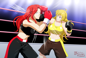 Yang Xiao Long Pro Debut by deadpoolthesecond