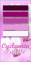 Cyclamen Palette by fairypoetess