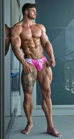Hot In Pink by builtbytallsteve
