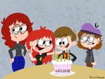 Happy Birthday Ian by rachetcartoons