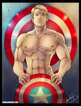 Steve Rogers. Oh Captain, My Captain by Amelie-ami-chan