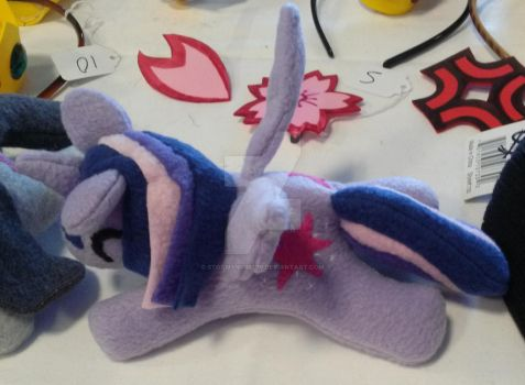 Twilight Sparkle plushie MLP Friendship is Magic 2 by StormyNight79