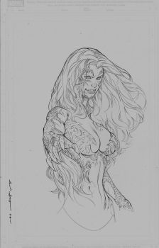 witchblade commission by Kevin-Sharpe