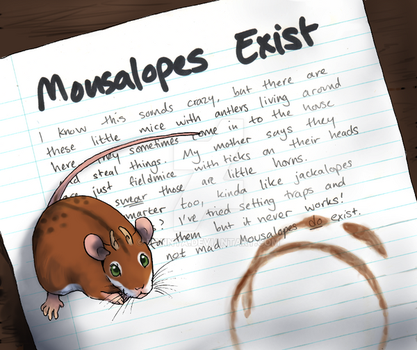 Mousalopes Exist! by Pannya