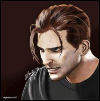 Rafe Adler Painting From Uncharted 4 by Daisystream