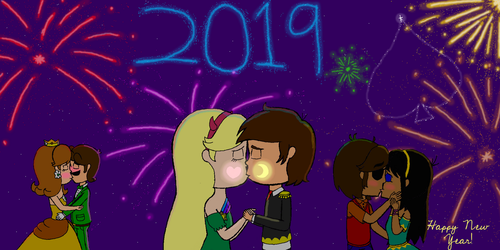 Happy 2019! by SuperToni14