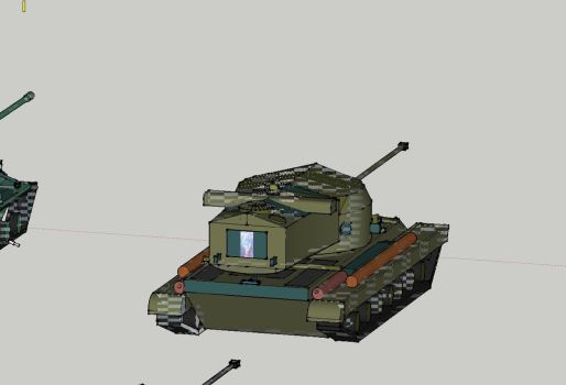 T 29 Heavy tank by Martinkarovic
