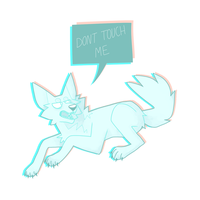 DONT TOUCH ME by twuk