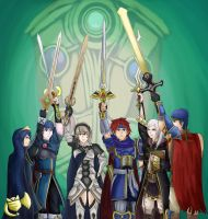 Fire Emblem Pride (Updated AGAIN) by Kenisu-of-Dragons