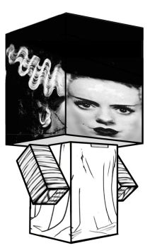 Cubee - Bride of Frankenstein by 7ater