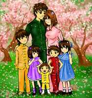 Li Family Portrait by Delight046