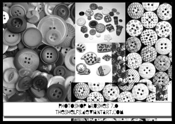 Buttons Brushes by Theshelfs