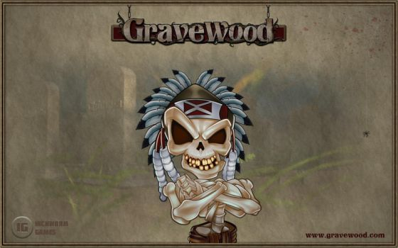 Gravewood Skeleton Character by InchwormGames