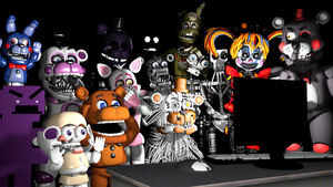 Five Nights at Freddy's and the internet 2 by bryancortes