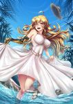 Summer Time Yang - White Dress by ADSouto