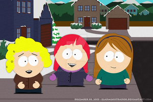 South Park - The irrelevant girls by hercamiam