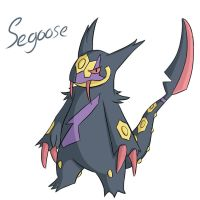 Pokemon Fusion - Segoose by Lawlawruu