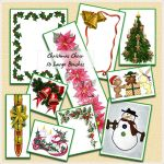 Christmas Cheer Brushes by cazcastalla