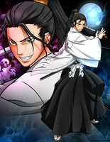 Soul Society's 11th Captain, Kenpachi Azashiro by TattianaV