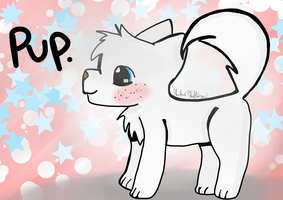 Pup. by AnimaloverXD