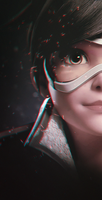 Tracer (Overwatch wallpaper) by gspy