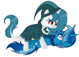 l + Commission + l McPony1234  by Mintoria