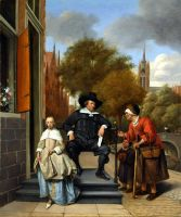 Old Dutch painting by JNW-Art