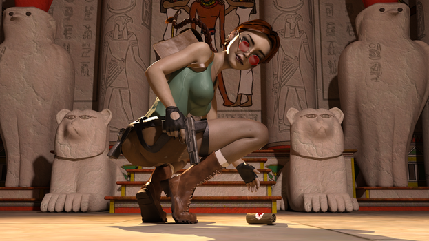 Classic Raider 45 by tombraider4ever