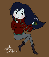 Holly Jolly Marceline by amaiawa