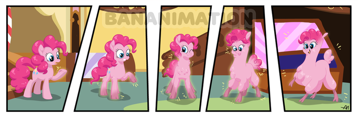 Commission for Davaba19 - Pinkie Alpaca by BananimationOfficial