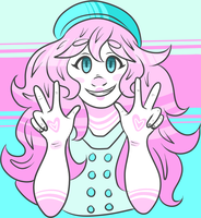 Cotton Candy Crazy by milesdoesart