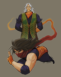 Zeku, the first Strider by Quasimodox