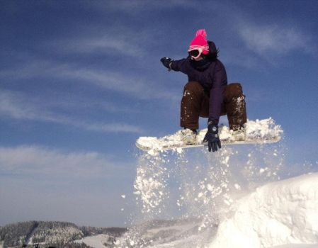 I love snowboarding by cettpick