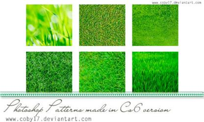 Green Grass Patterns by Coby17