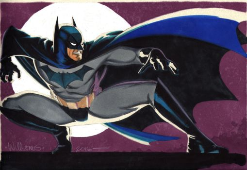 Yet another BATMAN commission by BroHawk