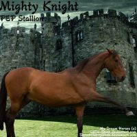 Might Night (PEP Stallion) by Carillie
