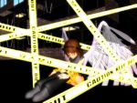 Caution Tape Angel: Keep Out by SilverStarlite