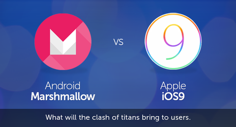 Android Marshmallow vs iOS 9 by jameswilliam723
