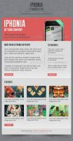 Iphonia Newsletter Template by Oscarvega