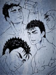Guts sketches by SHAKALone
