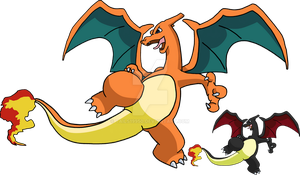 006 - Charizard - art v.2 by Tails19950