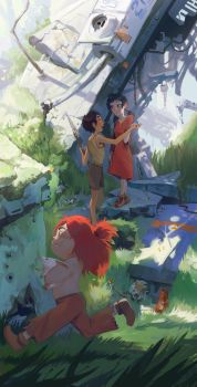 Future Boy Conan by caltron