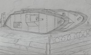 Mk. 5 Tank by WorksV3