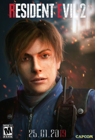 Leon. RE2 by Taitiii